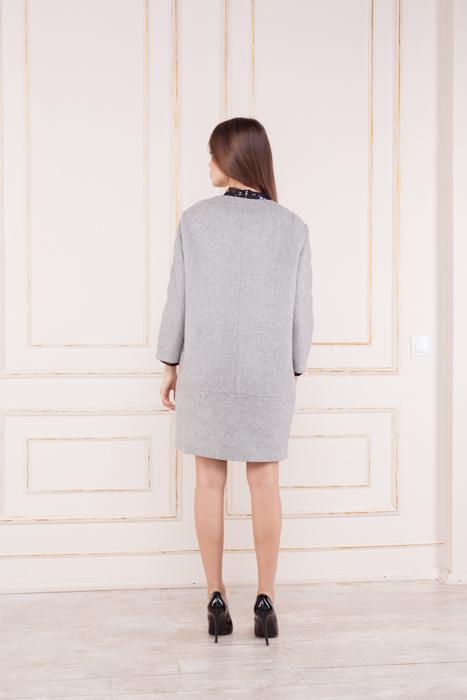 Женское шерстяное пальто Венеция сзади
