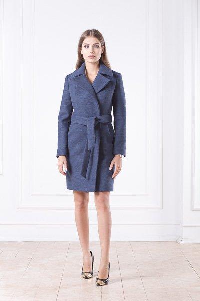 Приталенное шерстяное пальто Жизель