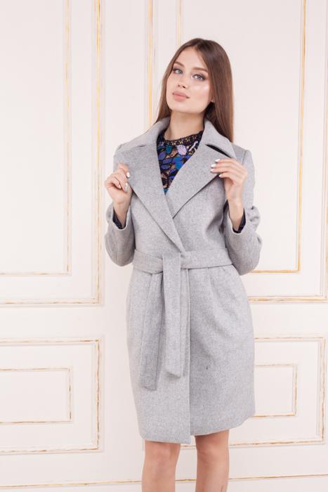 Женское приталенное пальто Жизель