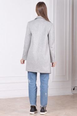 Пальто в пиджачном стиле Ницца сзади