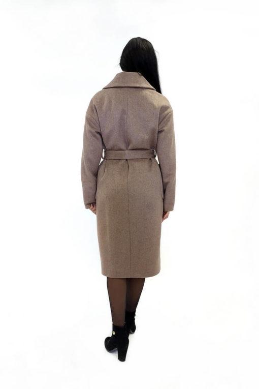 Женское шерстяное пальто Доминика сзади