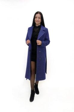 Женское шерстяное пальто Голдди