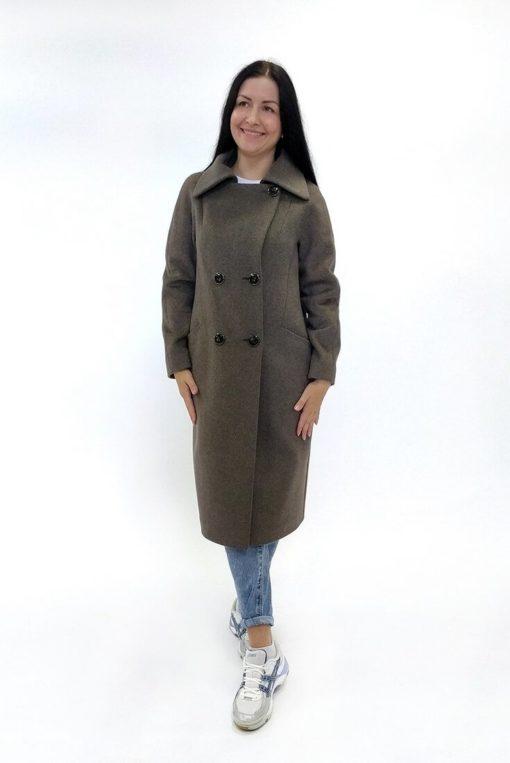 Двубортное женское пальто Марсель