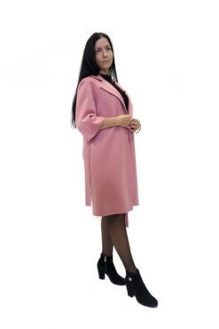 Пальто из двусторонней ткани Вена сбоку