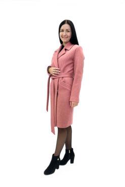 Женское пальто из шерстяной ткани Юстина