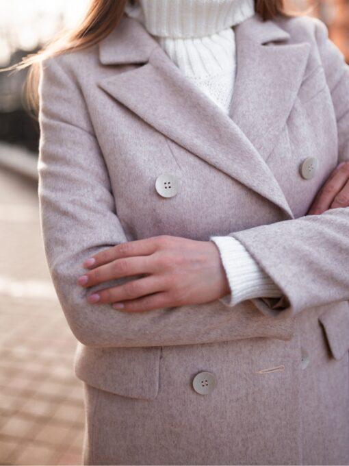 Пальто женское Медуза