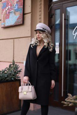 Пальто женское из шерстяной ткани Веда фото