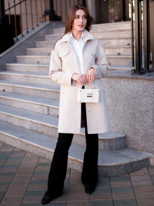 Пальто женское Офея короткая фото