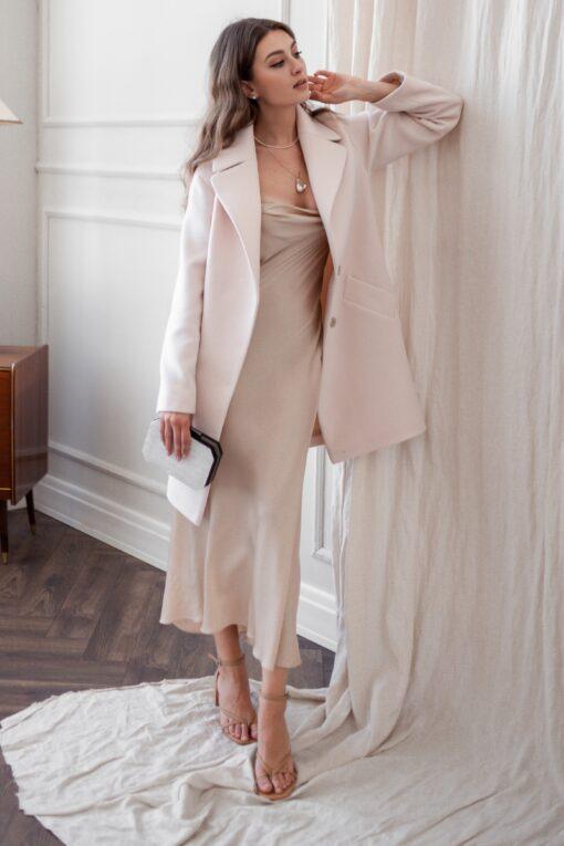 Пальто женское Шалфей