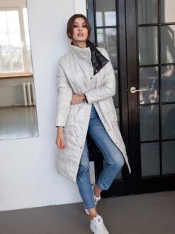Пальто женское двустороннее Ванесса фото