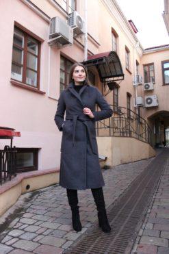Пальто из шерсти Туя фото